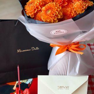 About last night🧡🎵 Як же добре, коли родина зібралась! Святкували День народження мами! ♥️  #YuliyaKozda #ЮліяКозда #lviv #lvivgram #bloom #flowers #flowerstagram #lvivcity #lvivphoto #ootd #celebration #happybirthday #bday #massimodutti #bdaycake #flowerbouquet #ukraine #woman #beauty #happy #moments #happybirthday